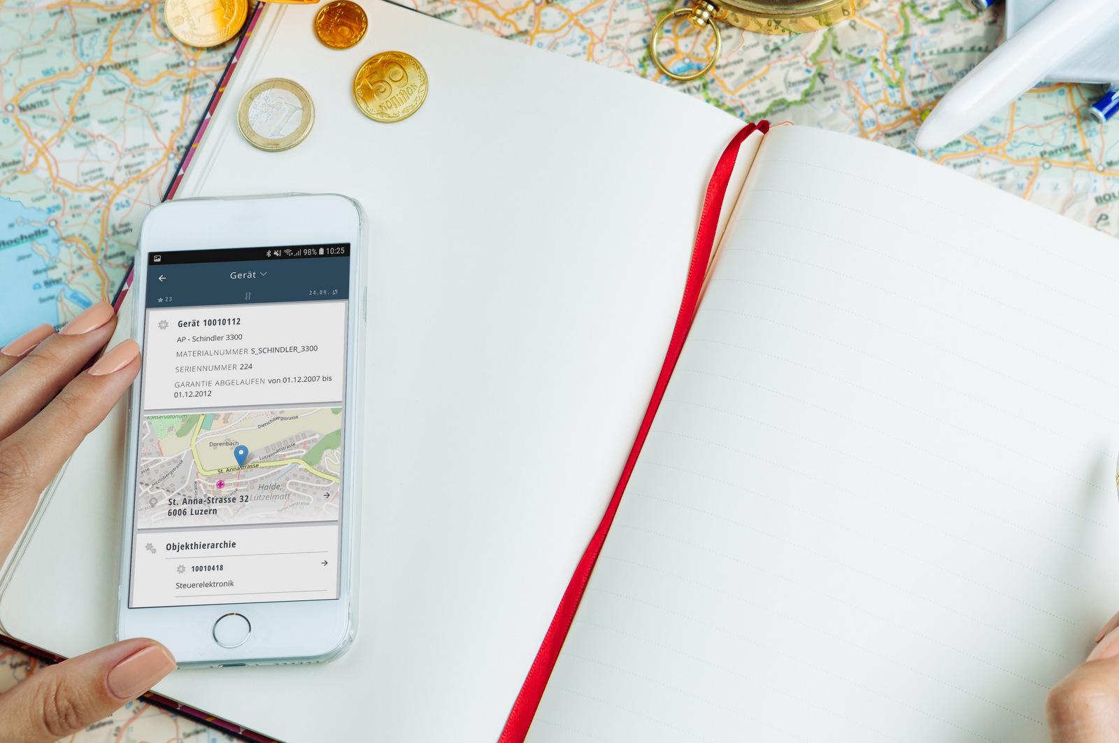 Travel Expense Manager in mobileX-MIP